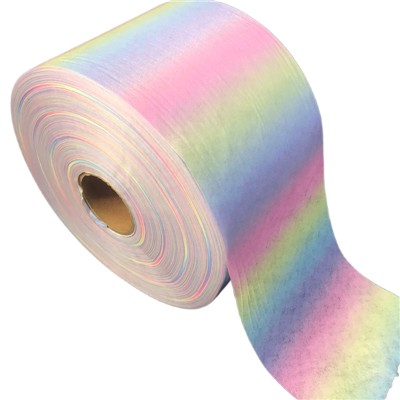 Customized Printed 100%Polyester Spunlace Nonwoven fabric