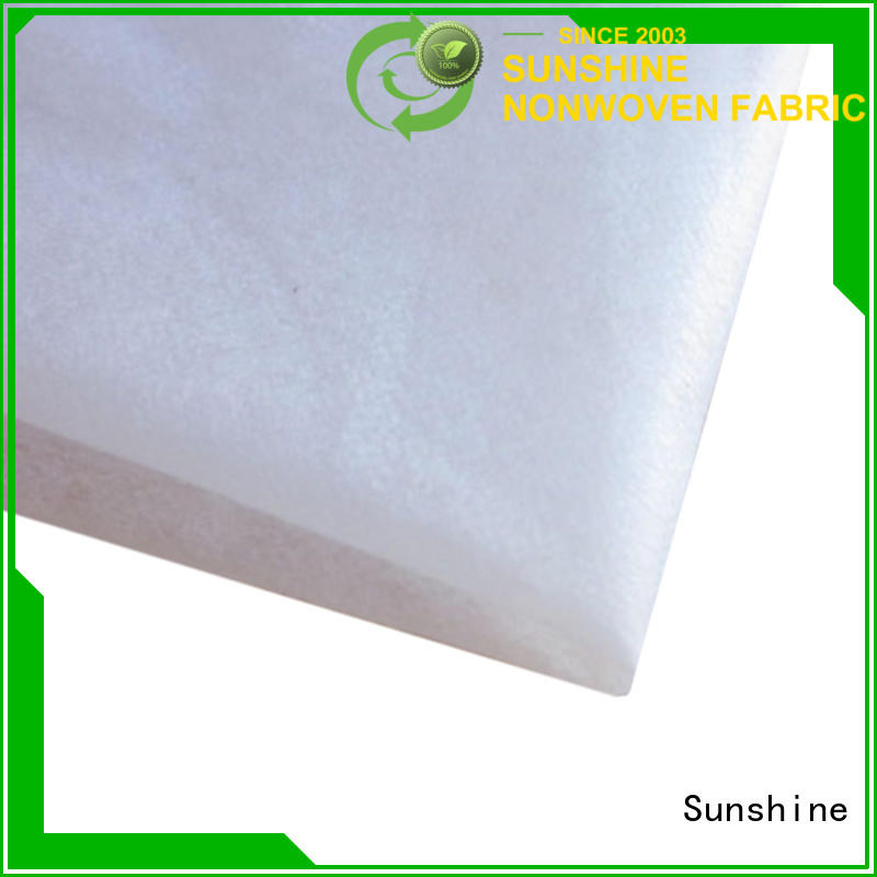 Sunshine colorful ss non woven wholesale for bed sheet