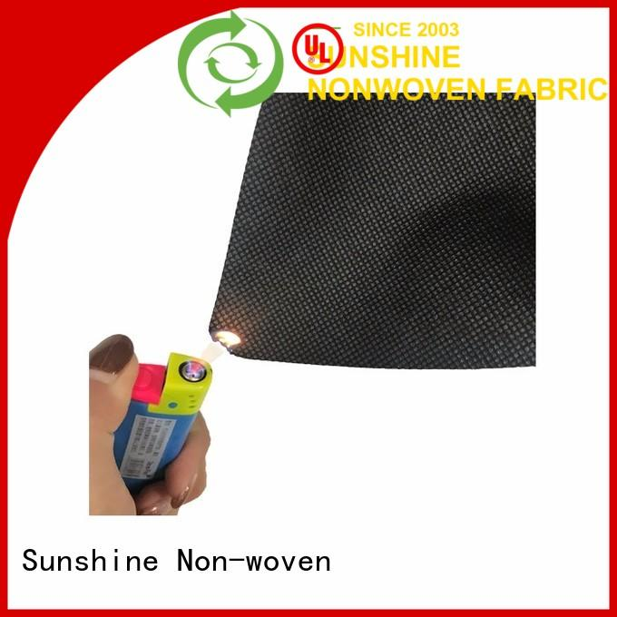 Sunshine colorful fire retardant fabric from China for packing