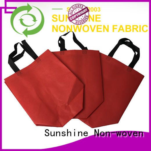 Sunshine medical nonwoven bags directly sale for home