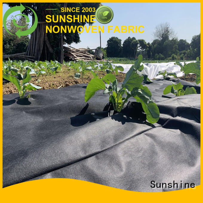 Sunshine convenient weed control fabric series for farm