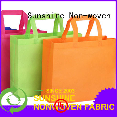 Sunshine disposable nonwoven bags personalized for bedroom
