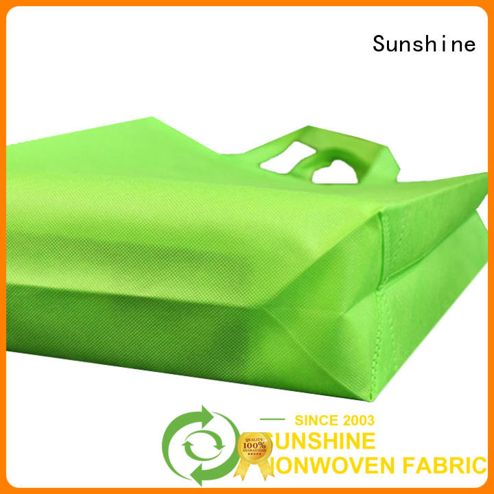 disposable non woven carry bags folded personalized for home