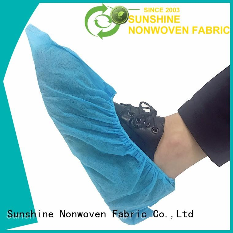 Sunshine soft disposable shoe covers design for medical