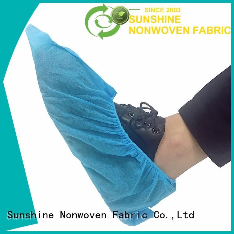 Sunshine soft disposable shoe covers design for medical