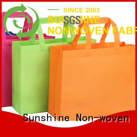Sunshine nonwoven bags series for bedroom