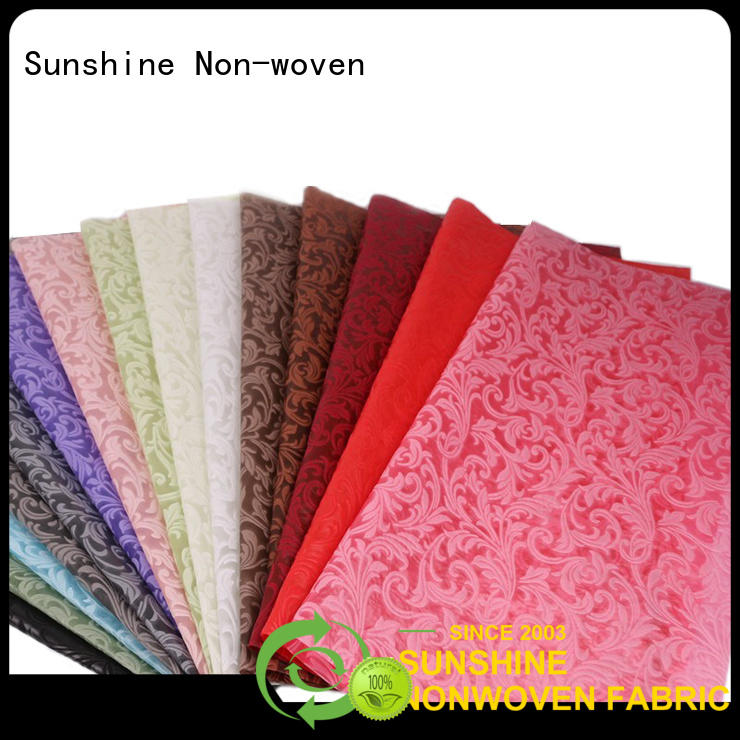 soft embossed fabric nonwoven inquire now for bedding