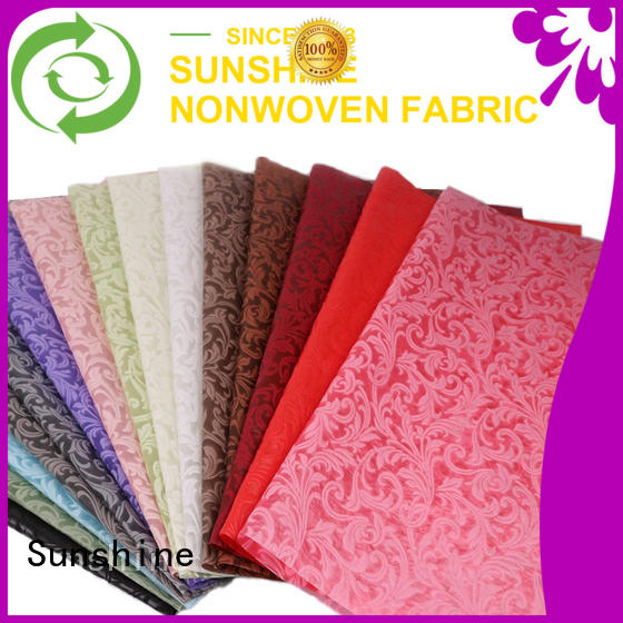 soft embossed fabric leaf manufacturer for covers