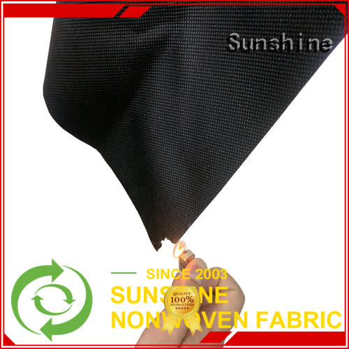 Sunshine spring flame retardant fabric factory price for table cover