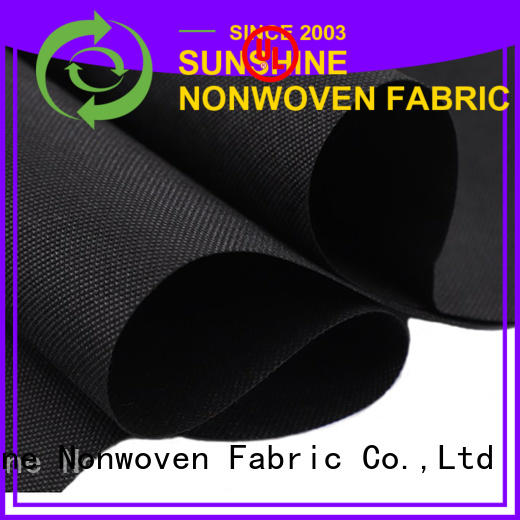 Sunshine eco-friendly pp spunbond nonwoven fabric with good price for gifts