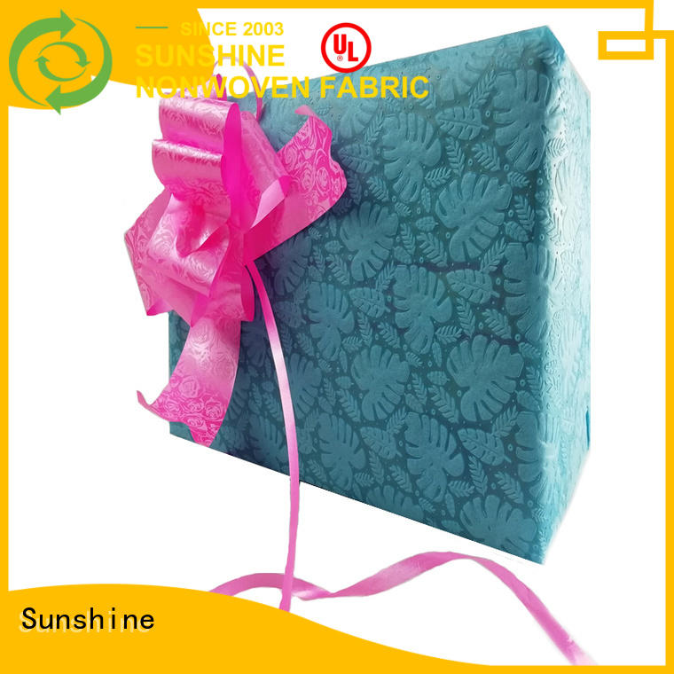 Sunshine rose non woven embossing inquire now for table