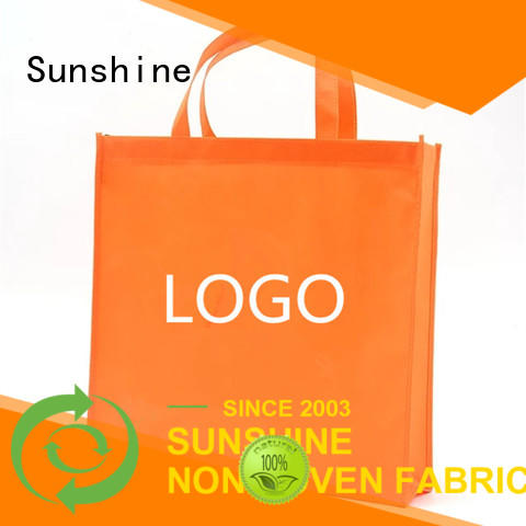 Sunshine medical non woven carry bags personalized for bed sheet