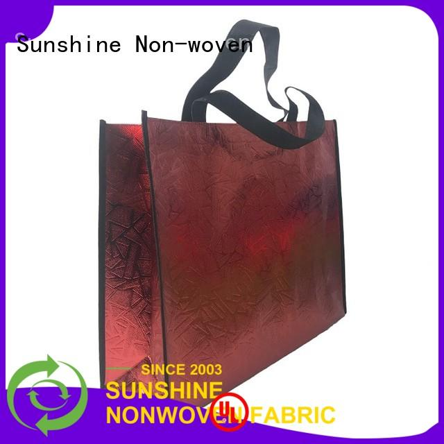 Sunshine ecofriendly nonwoven bags directly sale for bed sheet