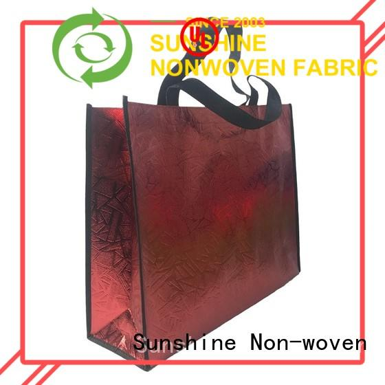 Sunshine waterproof non woven carry bags wholesale for home