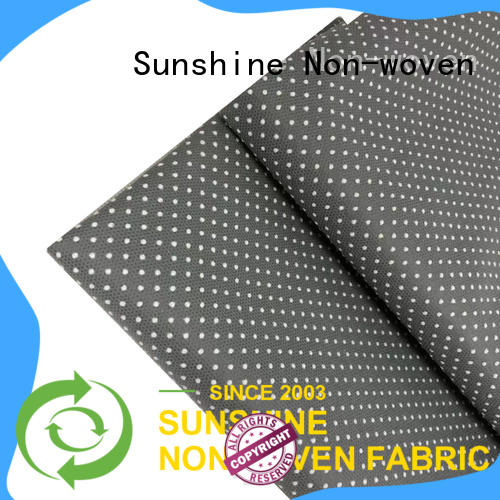 Sunshine spunbond non skid fabric from China for toilet