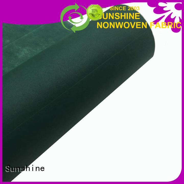 Sunshine usage perforated non woven fabric manufacturer for hospital