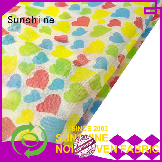 Sunshine spunbond non woven bag printing series for tablecloth