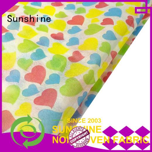 Sunshine spunbond non woven bag printing series for tablecloth