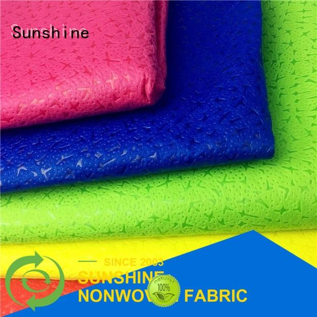Sunshine gift non woven embossing design for table