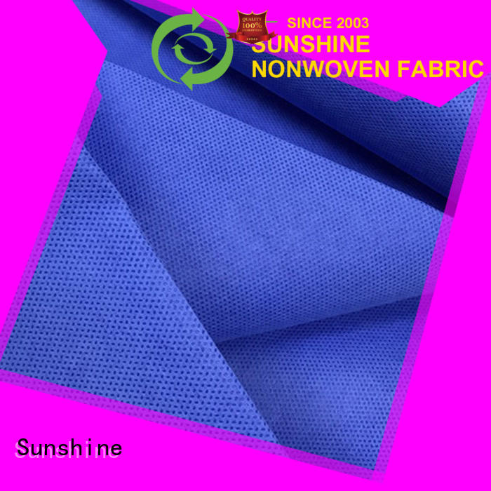 Sunshine baby ss non woven wholesale for coat