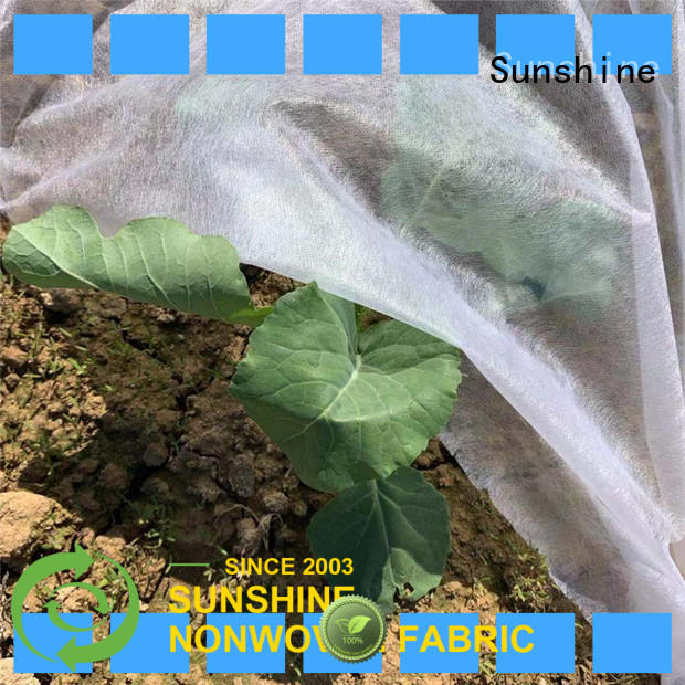 Sunshine materialgarden weed control fabric directly sale for farm