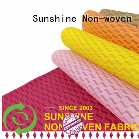 soft non woven embossing package with good price for tablecloth