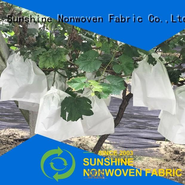 rolled plant cover fabric bags from China for fruit