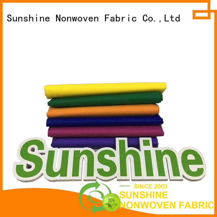 biodegradable pp spunbond nonwoven fabric quality manufacturer for bedsheet
