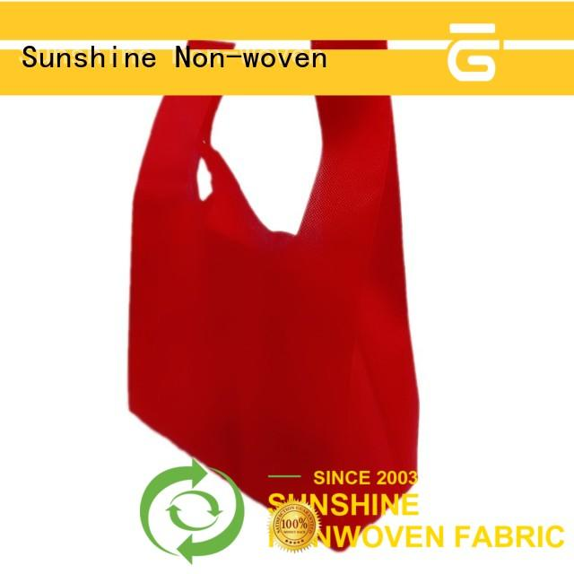 Sunshine disposable nonwoven bags series for household