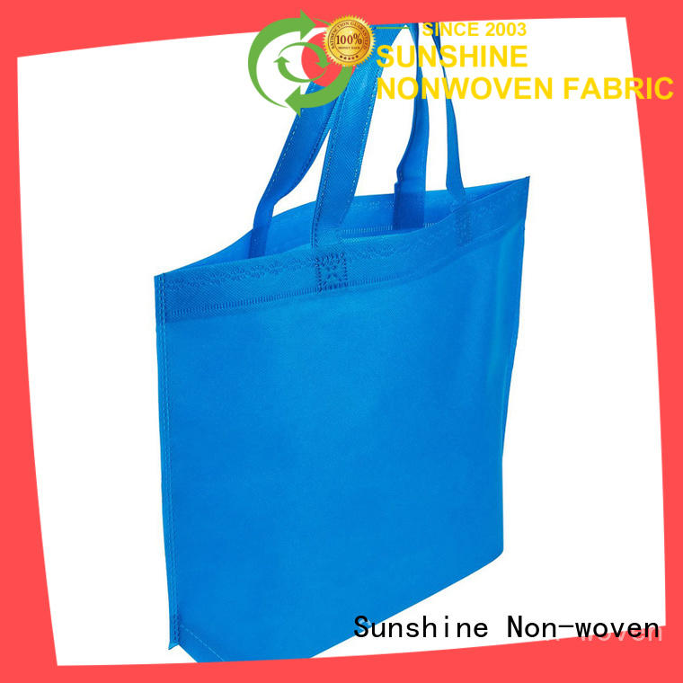 single non woven shopping bag customized wholesale for bed sheet