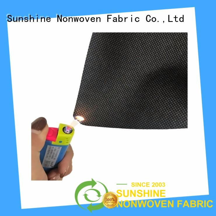 Sunshine extra wide fire retardant fabric supplier for table cover