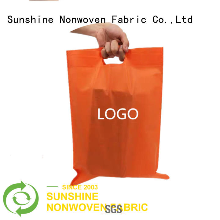 Sunshine non woven shopping bag wholesale for household