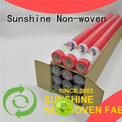 Sunshine tnt non woven fabric tablecloth wholesale for desk