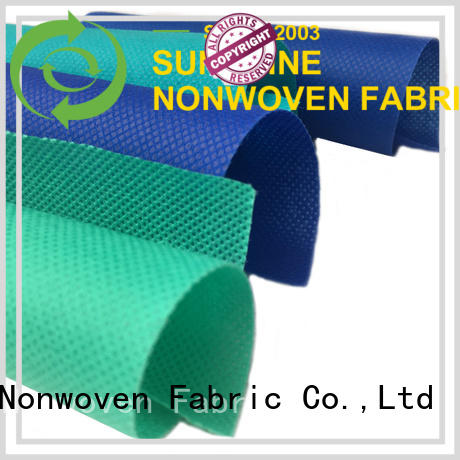 Sunshine bright pp nonwoven fabric directly sale for shop