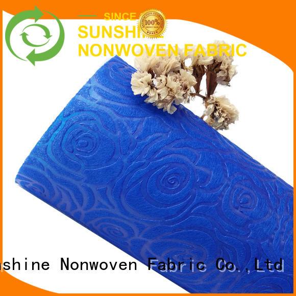 medical non woven embossing non design for tablecloth