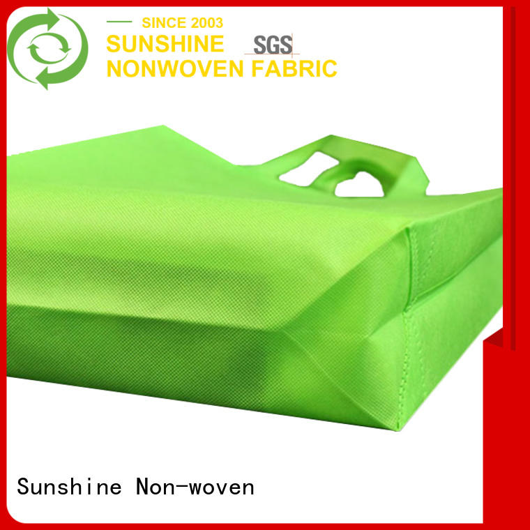 Sunshine medical nonwoven bags factory for household