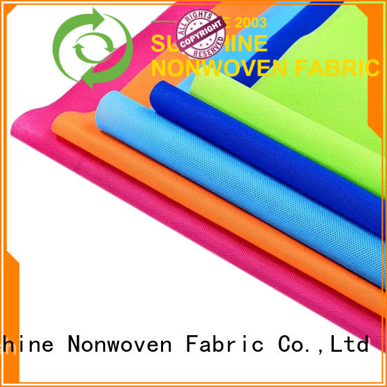 Sunshine fabric pp spunbond nonwoven fabric manufacturer for hotel