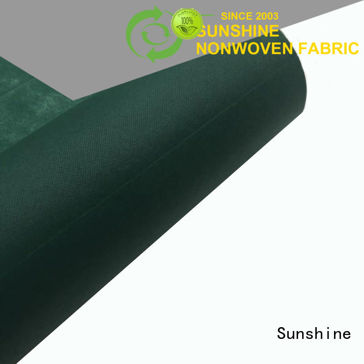 perforated non woven fabric with good price for hospital Sunshine