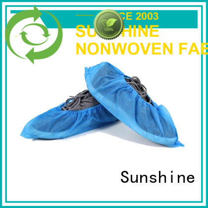 Sunshine small size non woven shoes cover manufacturer for medical