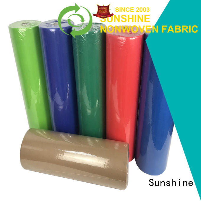 Sunshine comfortable non woven fabric tablecloth wholesale for desk
