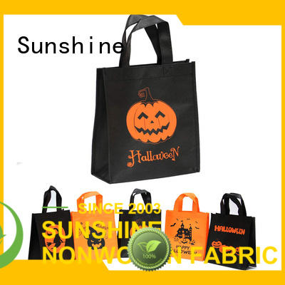 Sunshine customized non woven carry bags directly sale for home