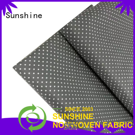 Sunshine non skid fabric supplier for hotel