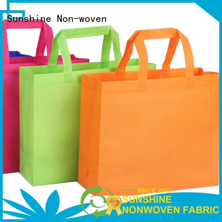 Sunshine bundle non woven carry bags wholesale for bed sheet