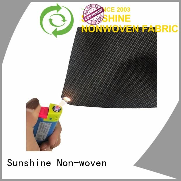 Sunshine embossed flame retardant fabric supplier for shoes cover