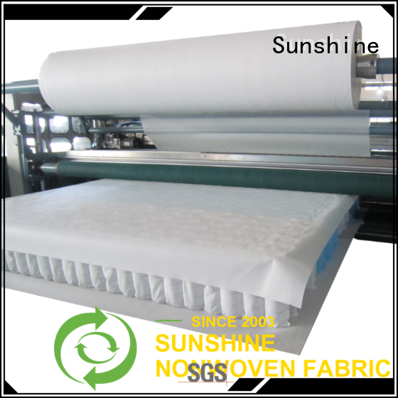 Sunshine bright waterproof non woven fabric from China for furniture