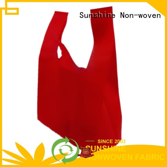 single nonwoven bags reusable directly sale for bed sheet