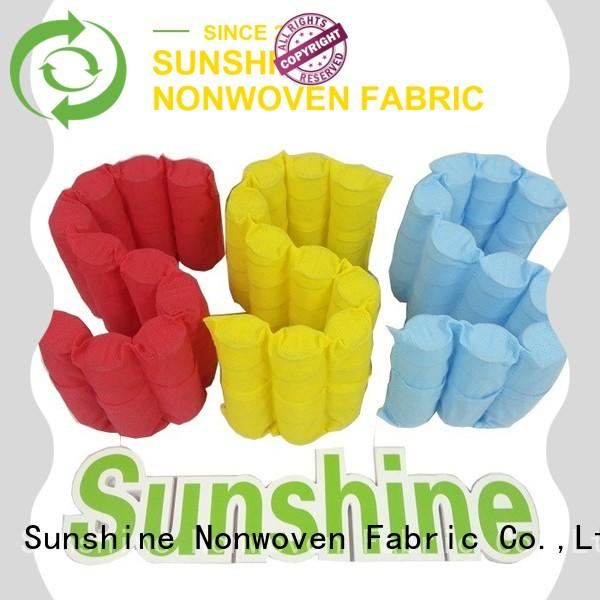 Sunshine comfortable waterproof non woven fabric factory price for furniture