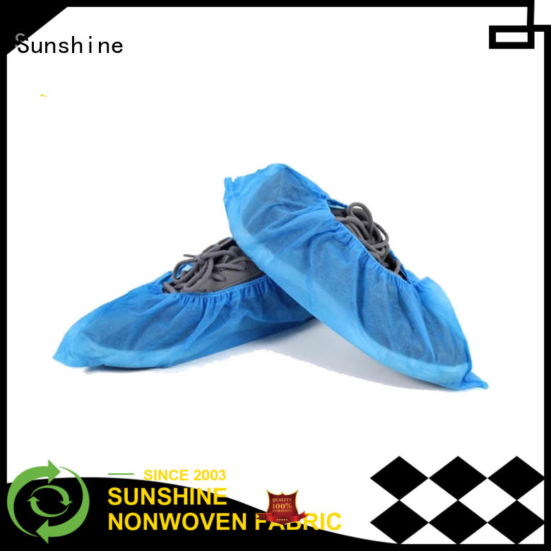 Sunshine disposable shoe covers design for shoes