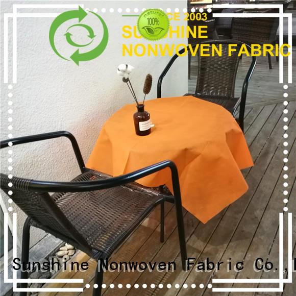 Sunshine soft nonwoven table cloth series for desk