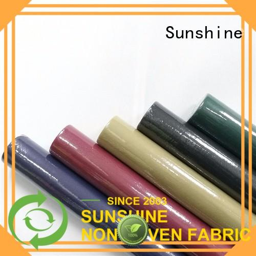 Sunshine non woven fabric tablecloth factory for table